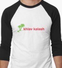 Khlav Kalash (Abrakebabra Version) Men's Baseball ¾ T-Shirt