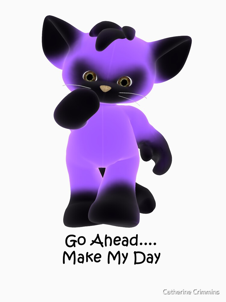 Go Ahead--tee by catsbacknc