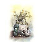Vanitas Mobile Phone by AnnimelArt