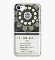 RETRO TELEPHONE iPhone Case/Skin