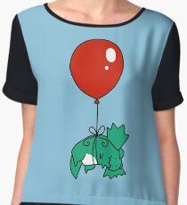 Balloon Dilophosaur Chiffon Top