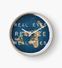 Flat earth flat is fact Clock