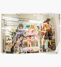 Anime Figures Poster