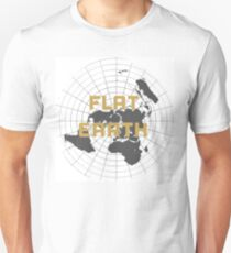 The earth is flat get over it,  T-Shirt