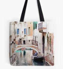 Canal of Venice, Italy Tote Bag
