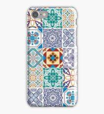 SPANISH TILE PATTERN iPhone Case/Skin