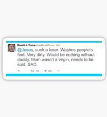 Donald Trump Tweet  Sticker