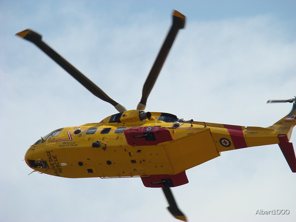 Rescue helicopter by Albert1000
