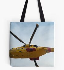 Rescue helicopter Tote Bag
