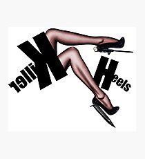 Fashion Blood - Killer Heels Photographic Print