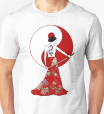 Samurai Girl Unisex T-Shirt
