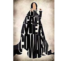 Severus Snape Photographic Print