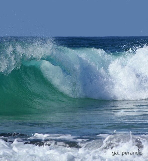 Kingy Surf ... by gail woodbury
