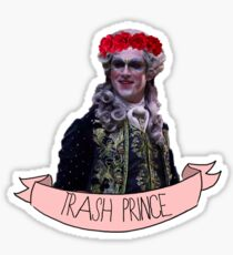 Trash Prince Adam Sticker