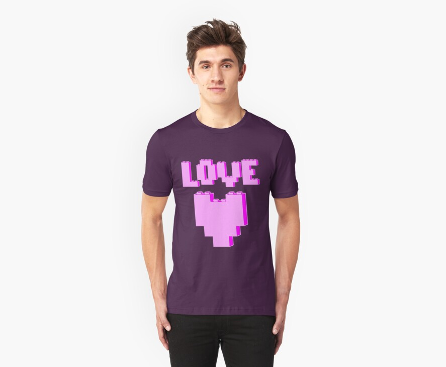 """""""LOVE""""  by Customize My Minifig"""