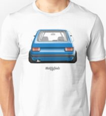 Volkswagen Golf 1 (blue) Unisex T-Shirt