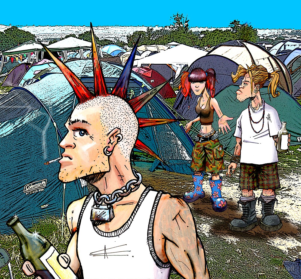 GLASTONBURY by Nathan Howell