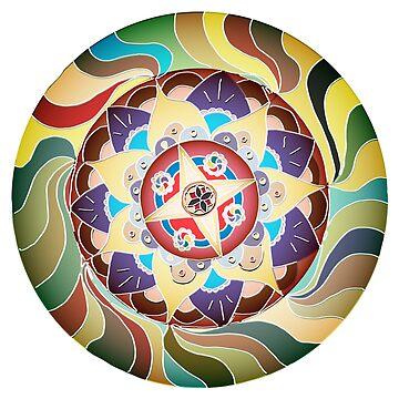 Mandala #1 (DSKI Originals) by LeeinLimbo