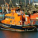 Howth Life Boat by Margaret Zita Coughlan