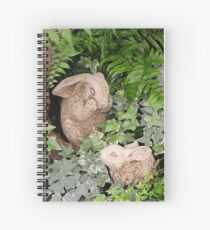 """And the Mommy Bunny Said, """"Oh My!"""" Spiral Notebook"""