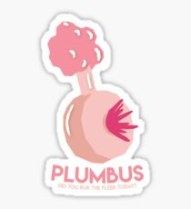 Rick And Morty - Simplistic Plumbus Sticker