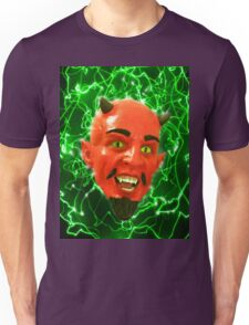 Psychedelic Freaky Red Devil Unisex T-Shirt