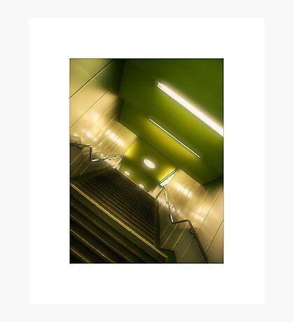 Apple Green Underground Photographic Print