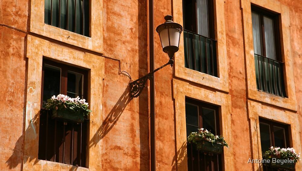 Roman facade by Antoine Beyeler