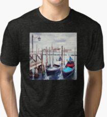 Gondolas, Venice Tri-blend T-Shirt