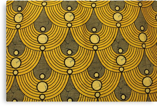 Capulana an African pattern Canvas Prints by Johnny Santos Redbubble Mesmerizing African Pattern