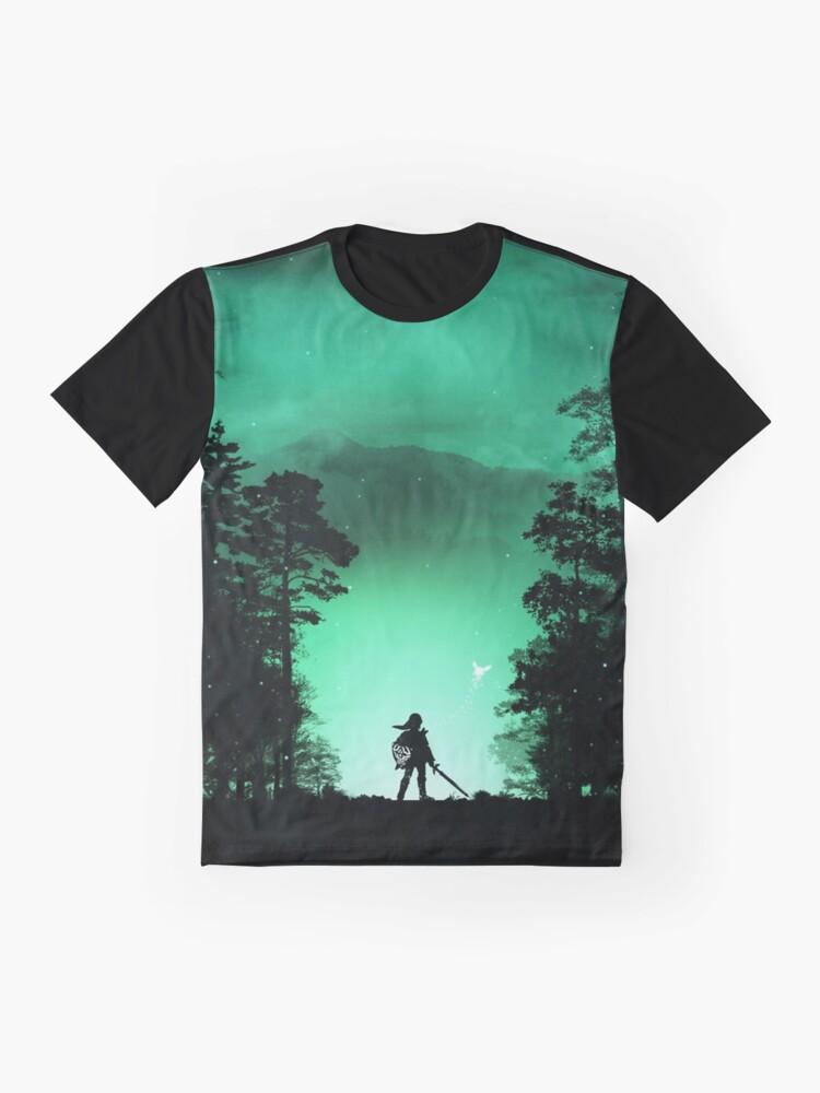 T-shirt graphique ''Link': autre vue