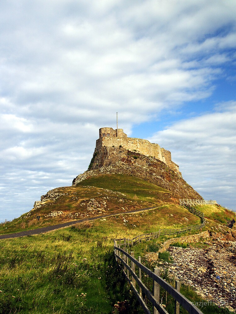 Lindisfarne Castle, Holy Island, Northumberland by cazjeff1958