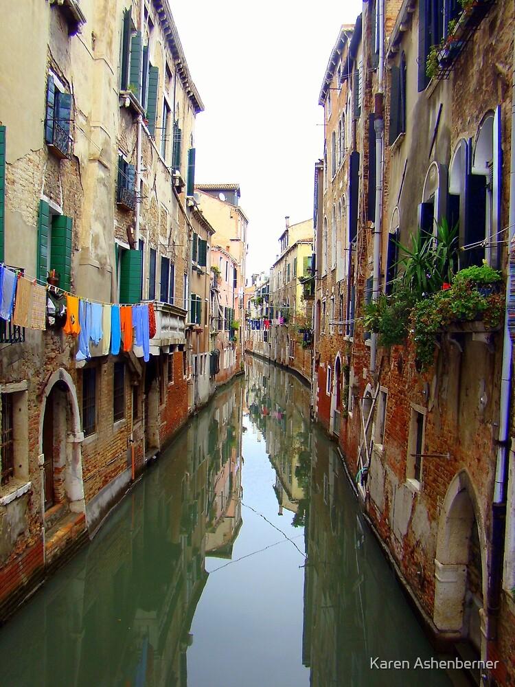 Venice Canal by Karen Ashenberner
