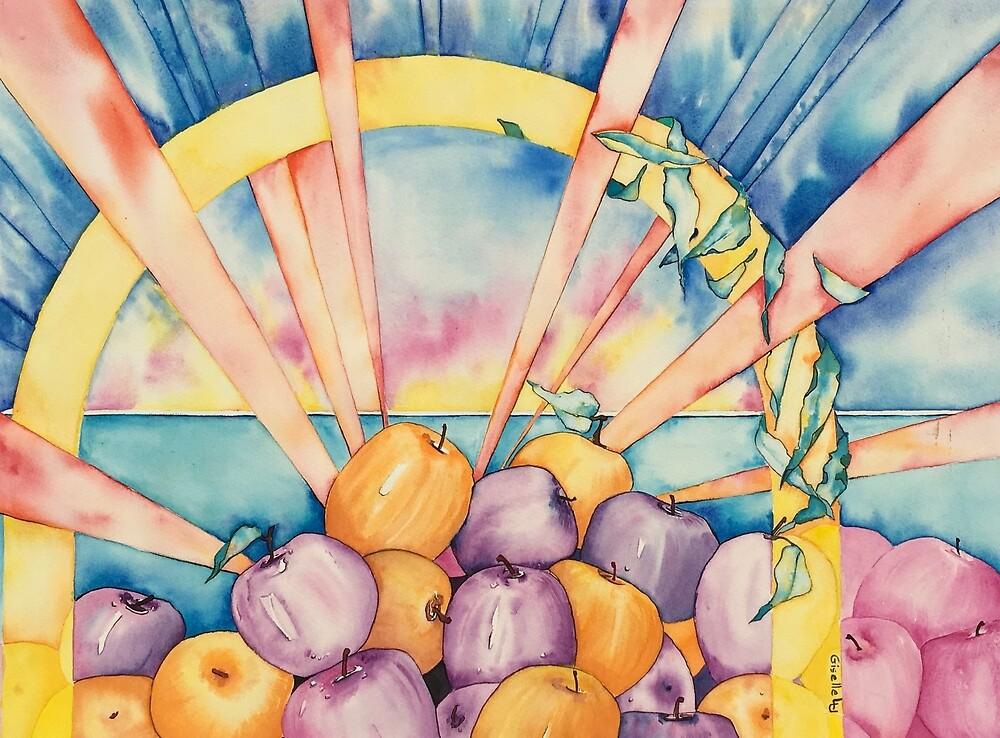 Apple Wellness Happy Days by Giselle Luske