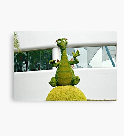 Topiary Figment Canvas Print