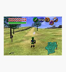 Ocarina of Time Young Link Photographic Print