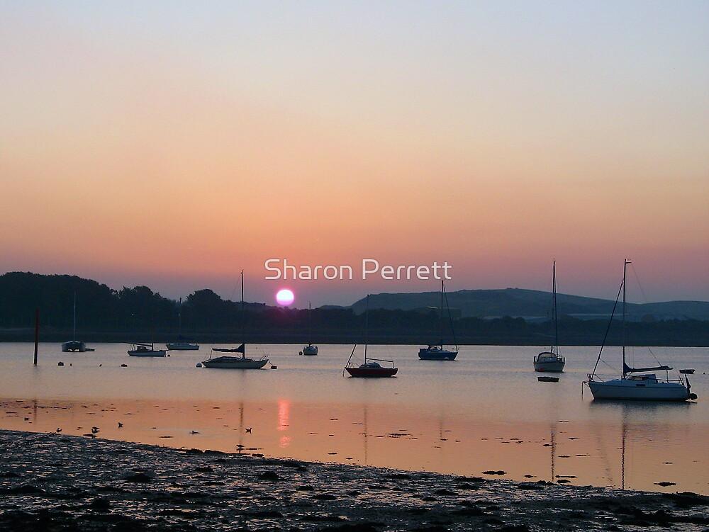 Sunset 08-09-07 by Sharon Perrett
