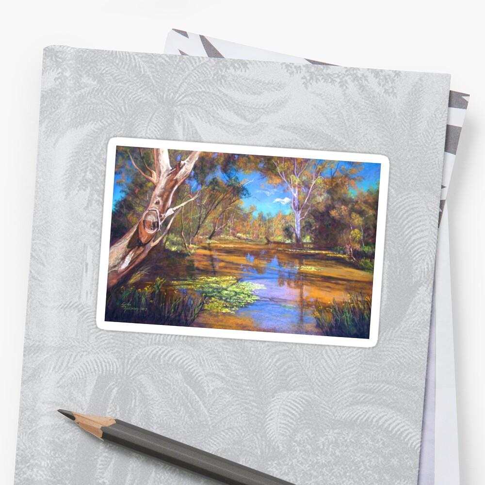 'Tahbilk Wetlands' by Lynda Robinson