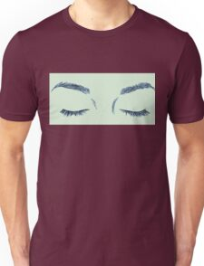 Closed Eyes Unisex T-Shirt