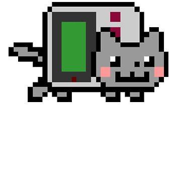 Gameboy nyan BIG!! by savestones
