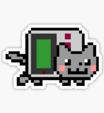 Gameboy nyan BIG!! Sticker