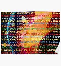 "Radiohead ""In Rainbows"" Poster"