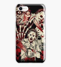 Horror guys iPhone Case/Skin