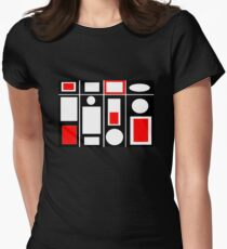 Modern Vibe 6 Womens Fitted T-Shirt