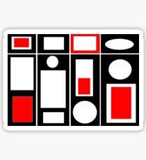 Modern Vibe 6 Sticker