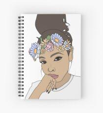 Flower Crown Filter Tinashe Spiral Notebook