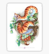 tiger snake Sticker