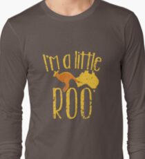 I'm a little ROO cute kangaroo with Australian map distressed version T-Shirt