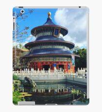 china pavilion in epcot  iPad Case/Skin