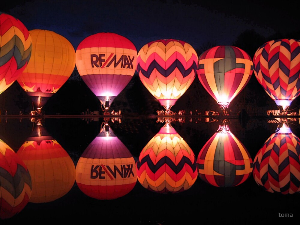 balloon glow by toma